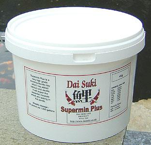 Supermin plus 1kg nettbutikk for Koi dam utstyr